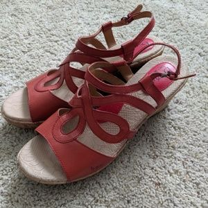 Practically Perfect BOC Coral Wedge